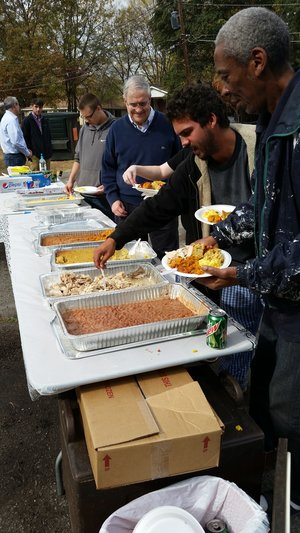 feeding others
