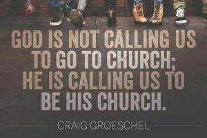 messenger of christ be the church
