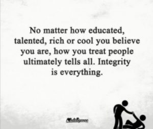 treat people with integrity quote